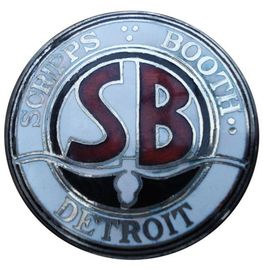 Scripps booth detroit radiator emblem 14 23 large