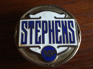 Stephens radiator emblem large