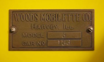 Woods mobilette plaque 1 large