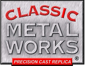 Classic metal works logo large
