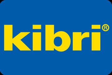 Kibri logo blauer hintergrund ecken abgerundet large