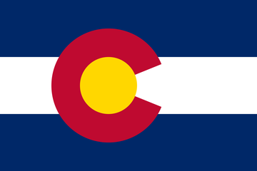 Flag of colorado large