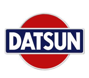 Datsun cars logo emblem large