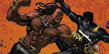 Killmonger black panther large