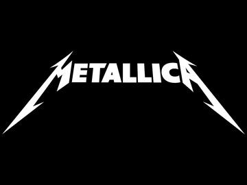 Metallica logo wallpaper large