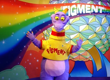 Figment character imagination epcot disney world large