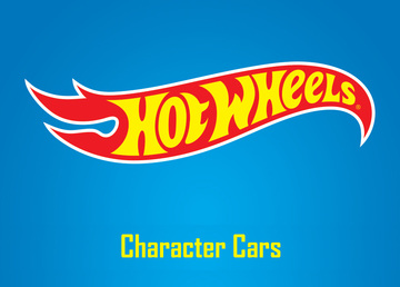 Hotwheels character cars large