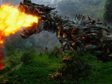 Grimlock full fire breath large
