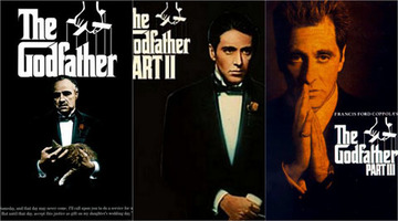The godfather trilogy large