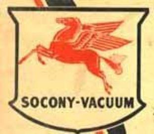 Socony vacuum 20oil 20co. 20logo large