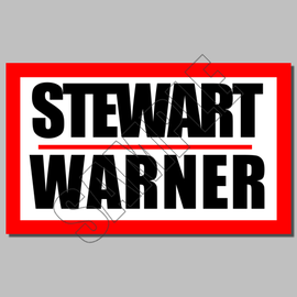 Stewartwarner lrg large