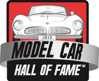 Model car hall of fame logo large