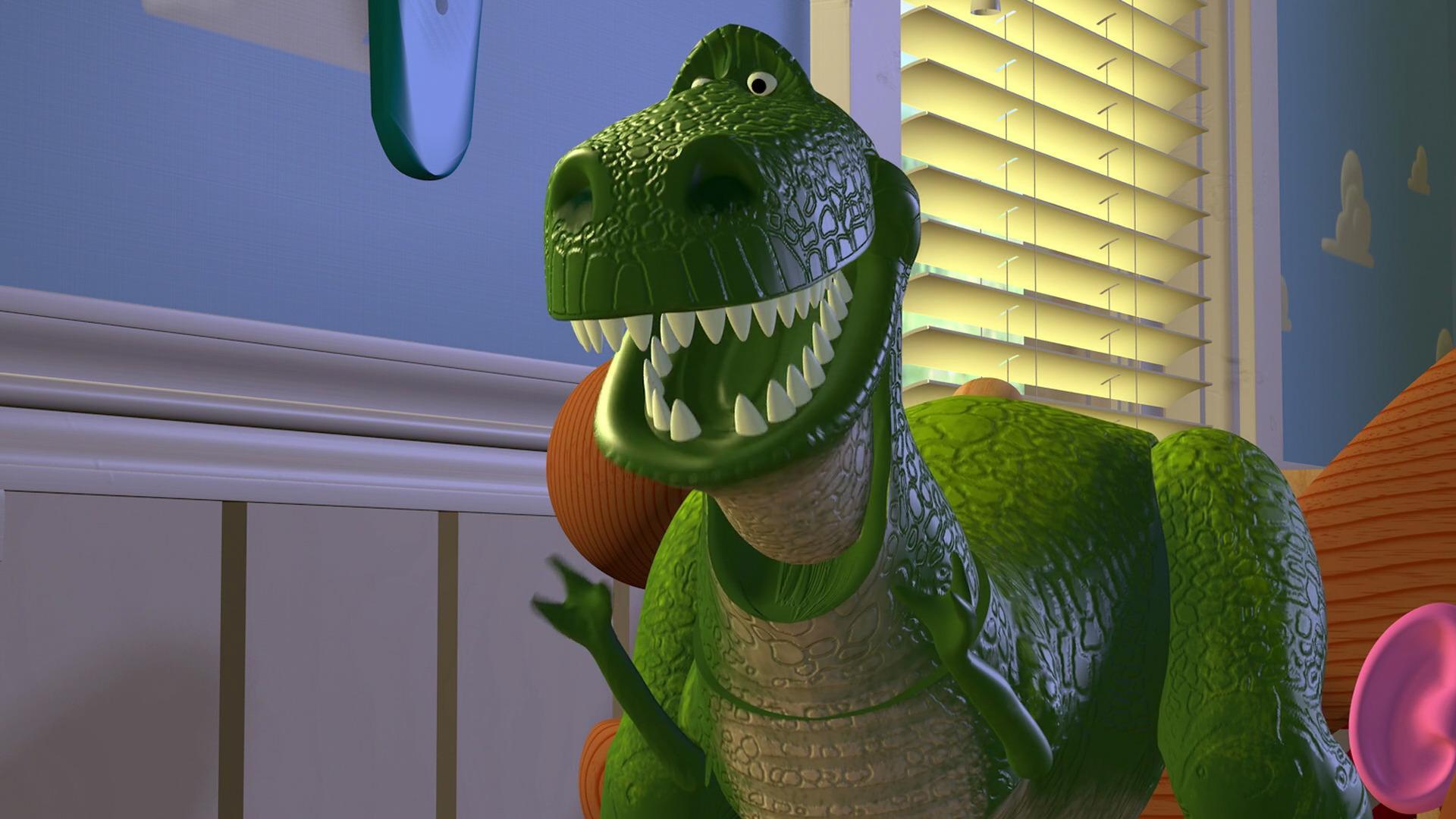 Rex toy story hobbydb - Dinosaure toy story ...