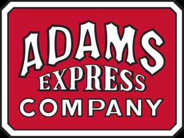 Adams 20express 20co. 20logo large