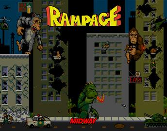 Rampage poster full large