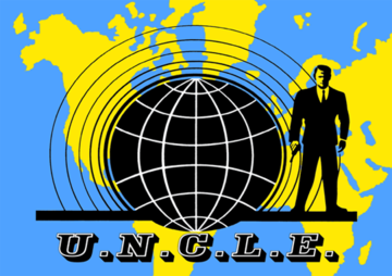 U n c l e  logo symbol the man from uncle tv show large