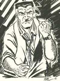 J  jonah jameson sketch by cagscreations d56sazy large
