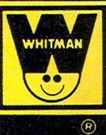 Whitman comics logo large