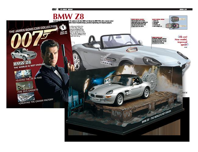 james bond car collection hobbydb. Black Bedroom Furniture Sets. Home Design Ideas