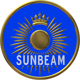 Sunbeam car company badge large