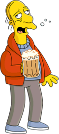 Larry 20 barfly 20  20the 20simpsons  large