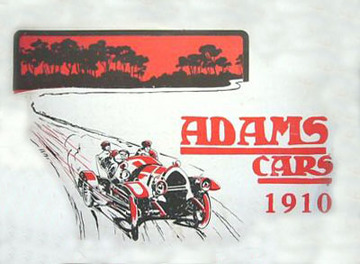 Adams veteran car range brochure 10 large