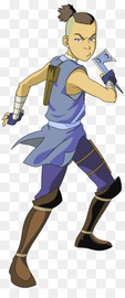 Kisspng sokka avatar the last airbender gohan vegeta full vector 5ad79de03cadf8.0347791715240800962486 large