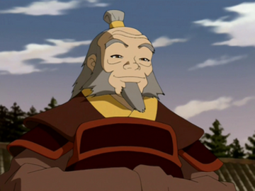 Iroh smiling large