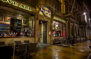 Hard rock cafe edinburgh large