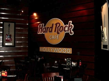 Hard rock cafe hollywood fl large