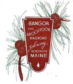 Bangor 20  20aroostook 20railroad 20logo large
