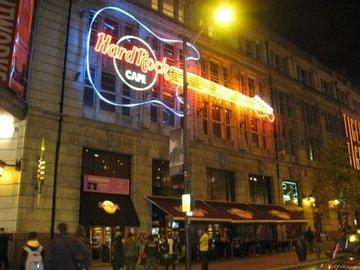 Hard rock cafe manchester large