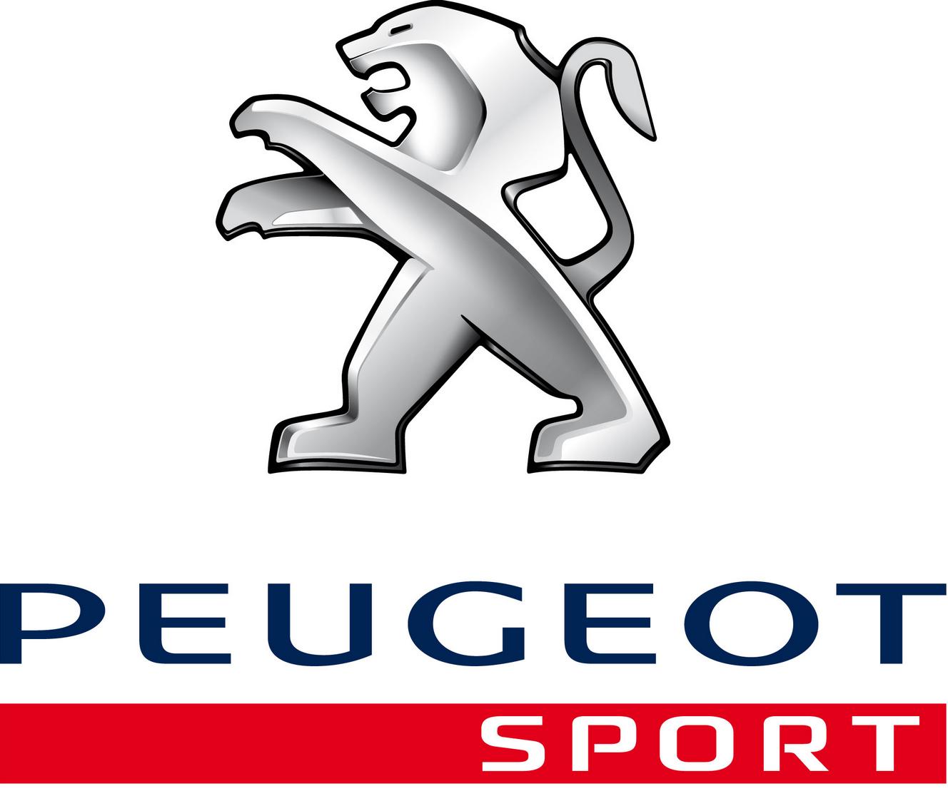 логотип peugeot sport