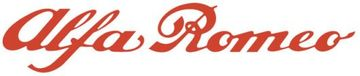Alfa romeo scritp logotype 1 large