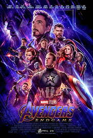 Avengers endgame poster large