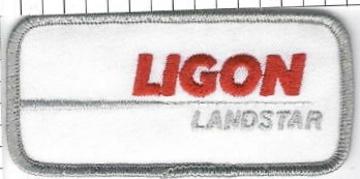 Ligon landstar truck driver patch large