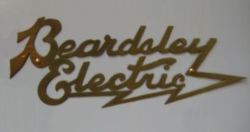 Beardsley electric emblem large