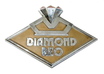 Diamond reo emblem large