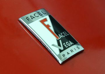 Facel vega emblem large